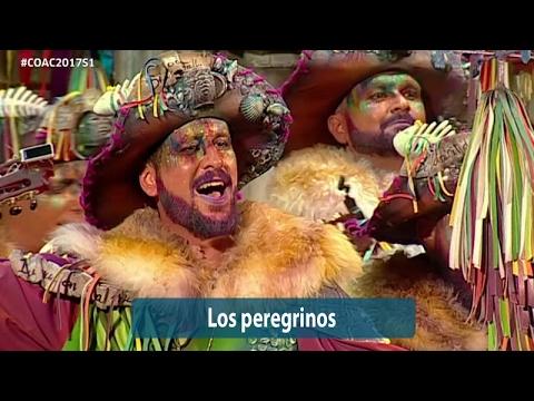 Sesión de Semifinales, la agrupación Los peregrinos actúa hoy en la modalidad de Comparsas.