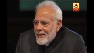 PM Modi in London's Westminster, says 'Pichle 20 saal se 1-2 kg gaaliyan roz khata hu' - ABPNEWSTV