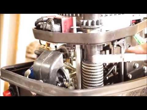 катушка зажигания на лодочный мотор зонгшен