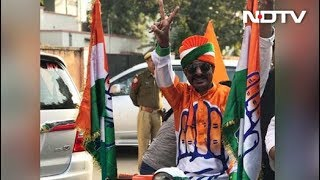 Congress Workers Celebrate Outside Sachin Pilot's House In Jaipur - NDTV