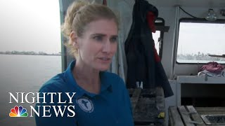 Fishing For Energy: Ocean Debris Turned Into Fuel In Florida | NBC Nightly News - NBCNEWS