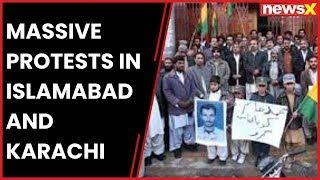 Massive Baloch protests in Islamabad and Karachi against missing persons - NEWSXLIVE