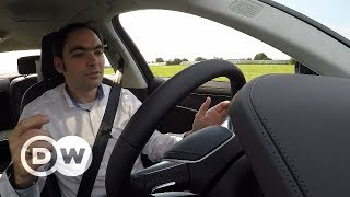 Audi A8's traffic jam assistant | DW English - DEUTSCHEWELLEENGLISH