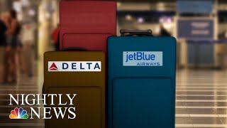 American Airlines Becomes Latest Carrier To Announce Increased Baggage Fees | NBC Nightly News - NBCNEWS