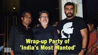 Arjun Kapoor wraps up Rajkumar gupta's 'India's Most Wanted' - IANSLIVE