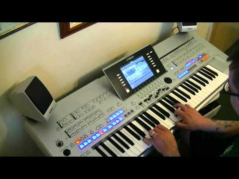 One Direction - What make's you beautiful - Yamaha Tyros - HD - Cover
