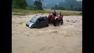 Master Stroke: Beas river crosses danger mark in Kullu - ABPNEWSTV