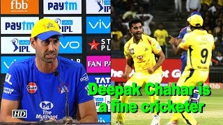 IPL 2018 | Deepak Chahar is a fine cricketer: Fleming - IANSINDIA