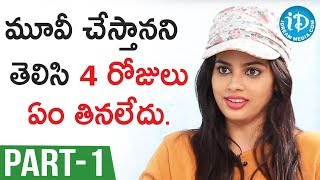 Actress Nandita Swetha Interview Part #1 || Talking Movies With iDream - IDREAMMOVIES