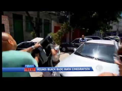 Após ser ameaçado, cinegrafista agride jovem em frente à delegacia