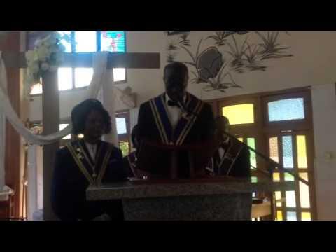 Address by Worthy Bro Peter Wireko, Regional Grand Knight of Accra West