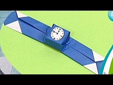 Çocuklar İçin Origami Wrist Watch (Öğretici) – Kağıttan Arkadaşlar 36