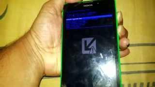 Nokia XL 1030 hard reset