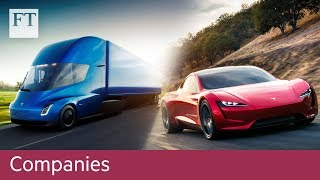 Tesla unveils new vehicles - FINANCIALTIMESVIDEOS