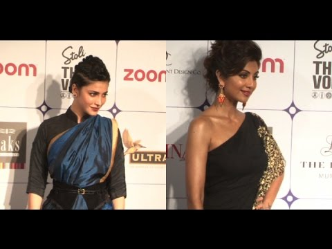 Shilpa Shetty And Shruti Haasan's Ethnic Avatar!