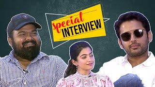 Bheeshma Success Interview | Nithin, Rashmika, Venky Kudumula, Mahathi - TFPC - TFPC