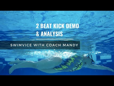 2 Beat Kick and Effective Propulsion Demo/Analysis