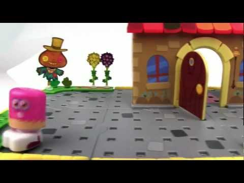 Bobble Bots Moshi Monsters - Moshi House