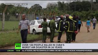 Over 100 killed in Havana airport crash after plane 'struck power line' - RUSSIATODAY