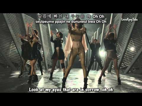 T-ara - Cry Cry (dance ver.) MV [English subs + Romanization + Hangul] HD