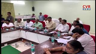 CM Chandrababu Sensational Decision on Cyclone Effects in Andhra Pradesh | CVR News - CVRNEWSOFFICIAL