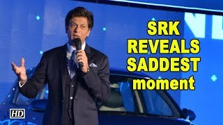 Shah Rukh Khan REVEALS his SADDEST moment - IANSINDIA