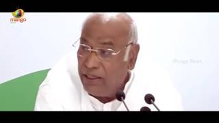 Mallikarjun Kharge At The Press Conference Discussed Over Payment Of Wages Act | Mango News - MANGONEWS