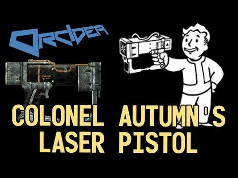 Fallout 3 Colonel Autumn's Laser Pistol
