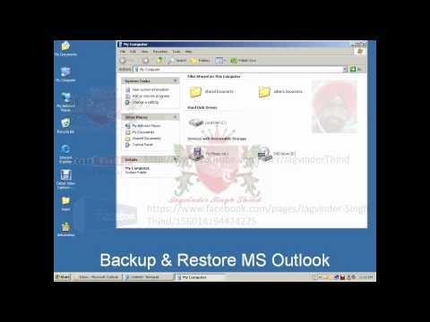 Backup & Restore MS Outlook -Fjo8mHh1PvU