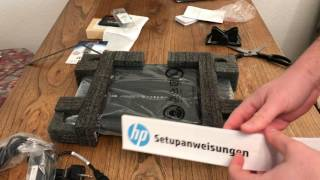 HP 15 ay042ng 200 Euro Notebook Unboxing und erster Eindruck
