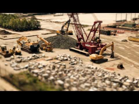 Timelapse New York in MIniature