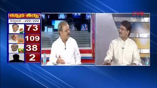 కర్ణాటకలో గెలుపు ఎవరిదీ ? : ఉత్కంఠ రేపుతున్న కర్ణాటక ఎన్నికల ఫలితాలు:Karnataka Election Results| CVR - CVRNEWSOFFICIAL