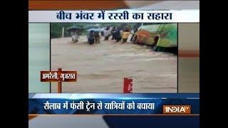 Heavy rains wreak havoc all across India; Gujarat, Uttarakhand, Maharashtra worst affected - INDIATV