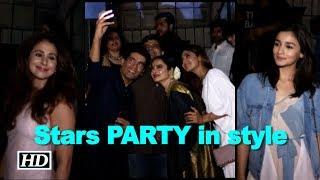 Alia Bhatt to Urmila Matondkar, stars PARTY in style - BOLLYWOODCOUNTRY