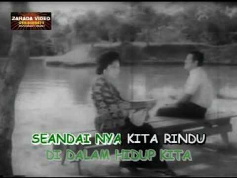 "SAAT YANG BAHAGIA (KARAOKE) P.Ramlee & Saloma versi filem ""Masam Masam Manis"" (1965)"