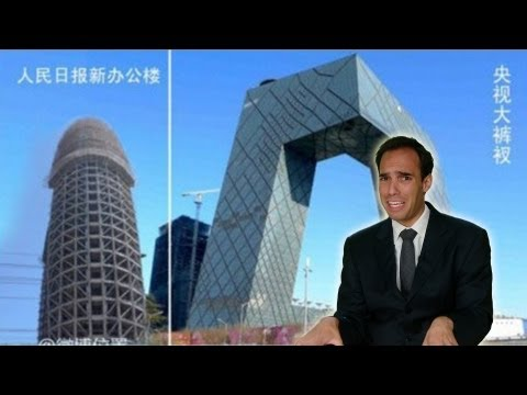 China Uncensored - Giant Scary Pornographic Building: China's New Propaganda HQ! | China Uncensored | NTDonChina