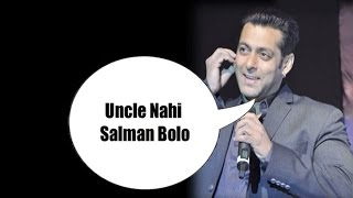 Salman Khan's humble request to children | Bollywood News