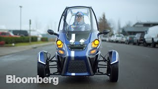 It's a Bird. It's a Tesla. No, it's an Arcimoto. - BLOOMBERG