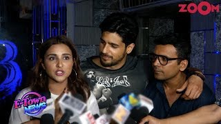 Parineeti DEFENDS Sidharth over his last film's failure as they celebrate wrap-up of Jabariya Jodi - ZOOMDEKHO