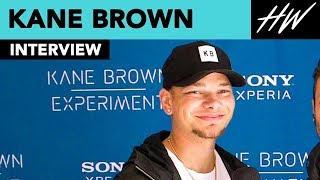 Kane Brown Reveals How He Built His Truck & Shows Off His Tattoo Of His Wife Katelyn Jae | Hollywire - HOLLYWIRETV