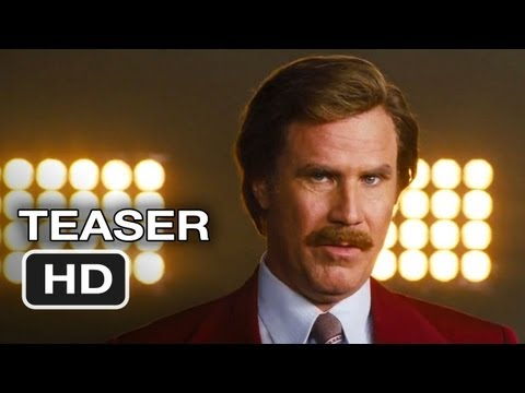 Anchorman 2: The Legend Continues Official Teaser (2013) Will Ferrell Movie HD -Fn5h_oNfHpI