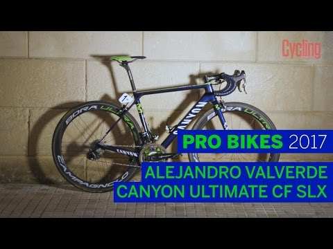 Alejandro Valverde's Canyon Ultimate CF SLX | Pro Bikes of 2017 | Cycling Weekly