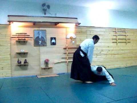 Aikido Iwama Ryu Oran  (Tantodori) - SidAhmed Fouatih