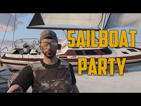 SAILBOAT PARTY! (Grand Theft Auto V)