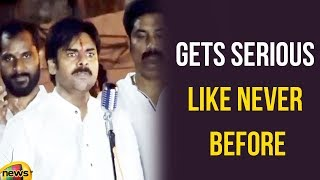 Pawan Kalyan Gets Serious Like Never Before at Vanthada Mining Mafia | Pawan Angry Speech|Mango News - MANGONEWS