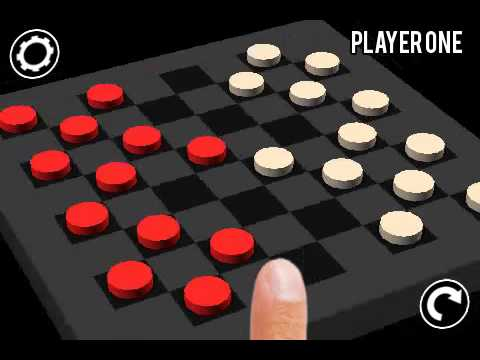3D Checkers Demo