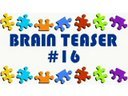 Video Brain Teaser #16