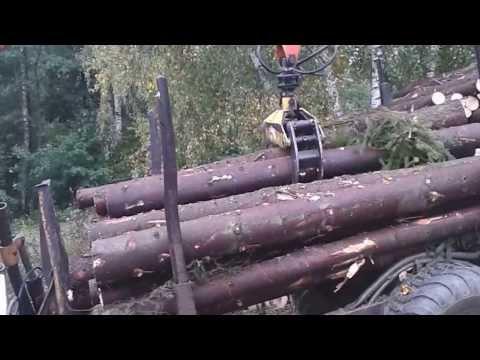 Zrywka drewna ursus c360