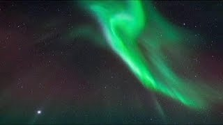 مصور سويدي يسجل ظاهرة الشفق القطبي