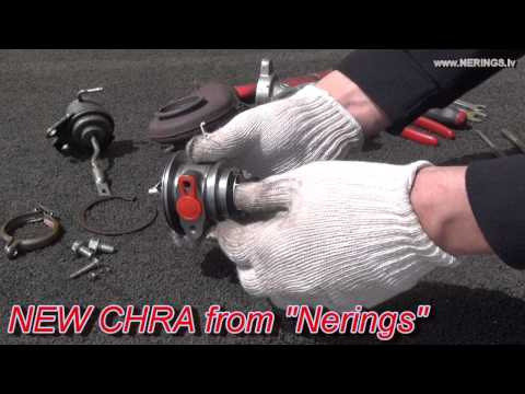 How to Rebuild a Turbo / Easy Turbocharger Repair with CHRA Cartridge - NEW Balanced Core